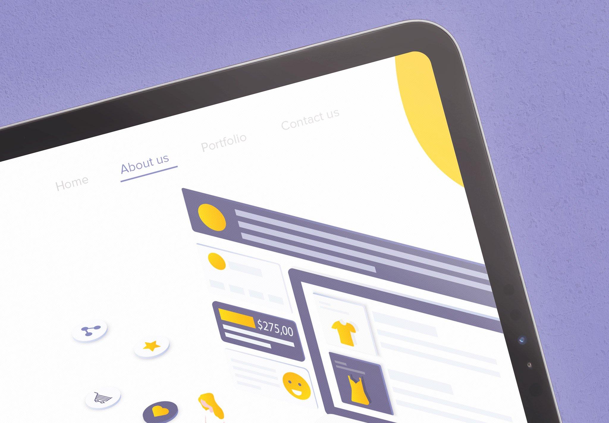 Tablet Pro 11 Mockup Image04