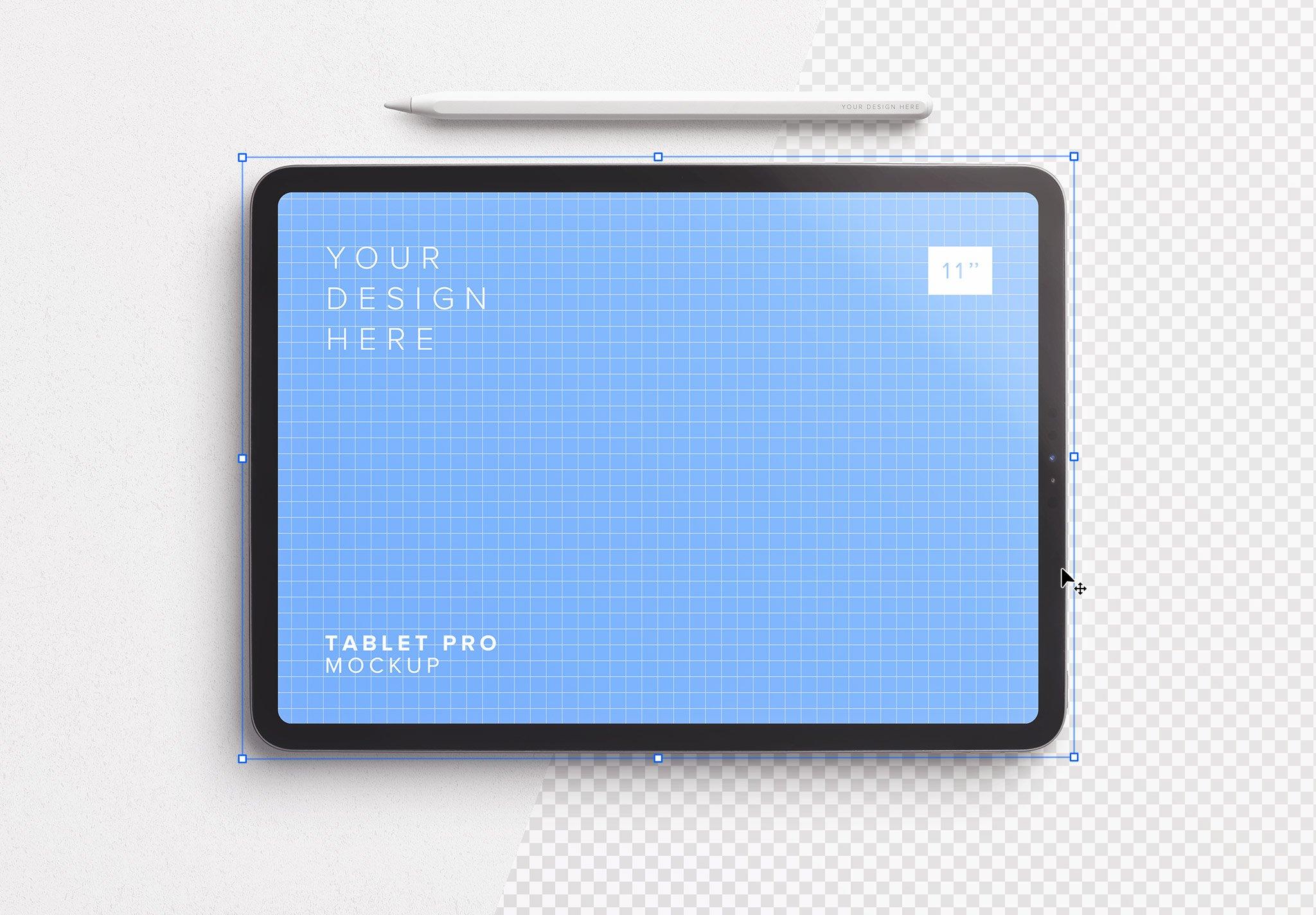 Tablet Pro 11 Mockup Thumbnail