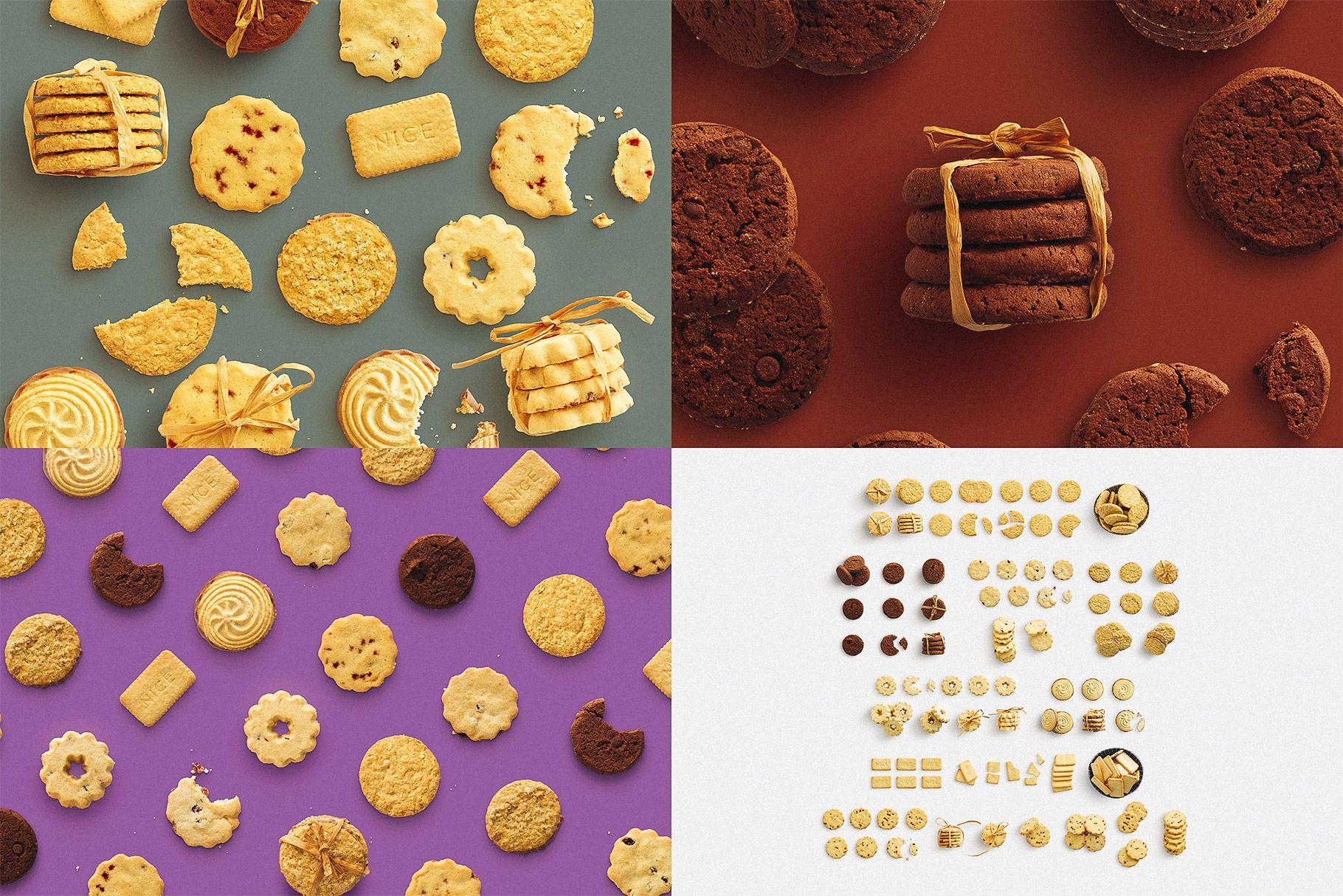 Winter Food Biscuits