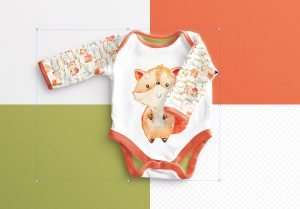 Baby Vest Long Sleeves 2 Mockup image02