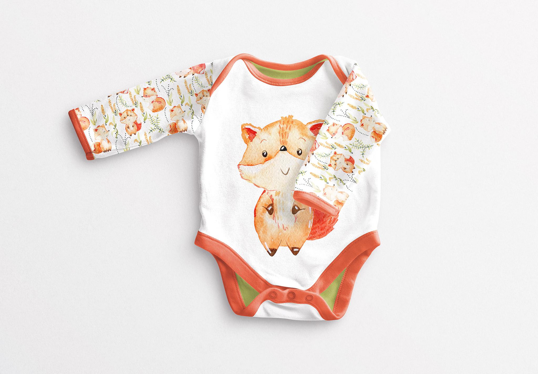 Baby Vest Long Sleeves 2 Mockup image03
