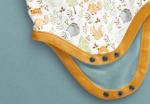 Baby Vest Long Sleeves Open Mockup image04