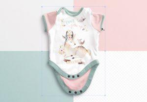 Baby Vest Open Mockup image02