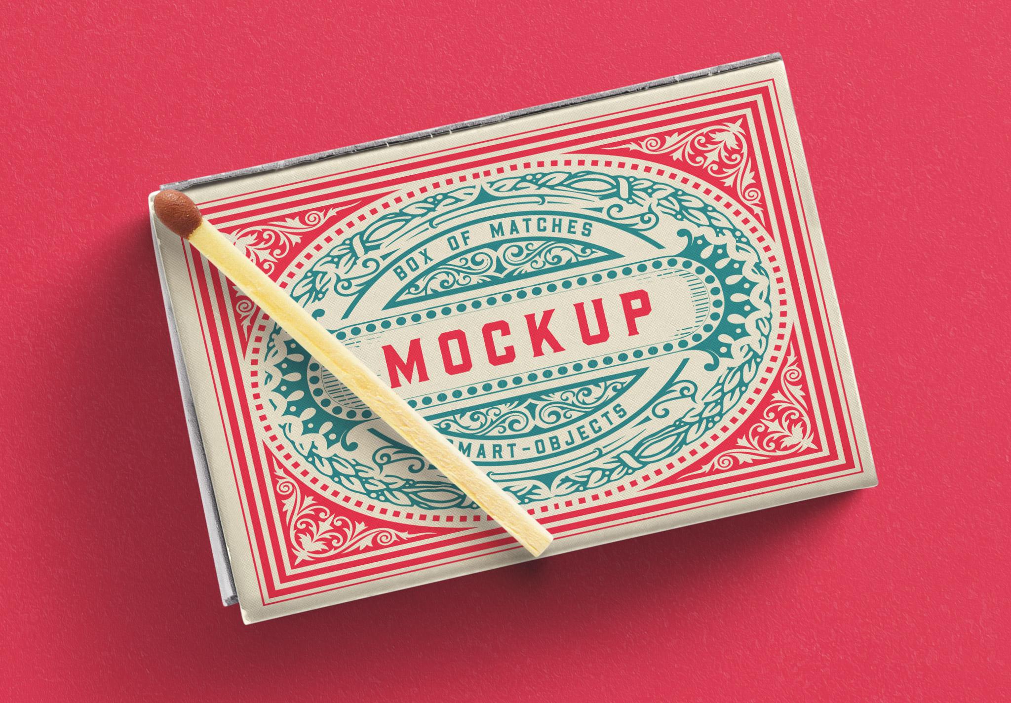 Box Matches Mockup image04