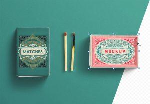 Box Matches Mockup thumbnail 1