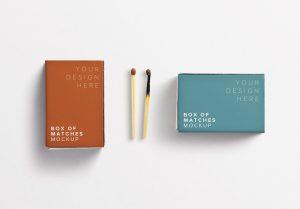 Box Matches Mockup thumbnail