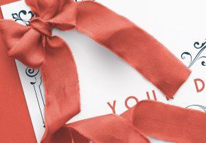 Card With Ribbons Mockup 2 image04