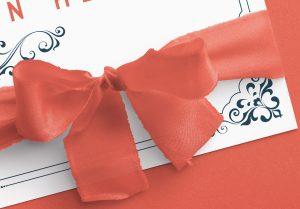 Card With Ribbons Mockup 3 image04