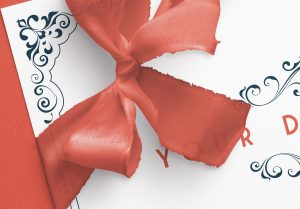 Card With Ribbons Mockup 7 image04