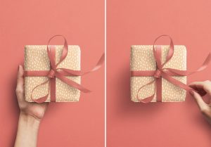 Hands Holding Gift Box image03