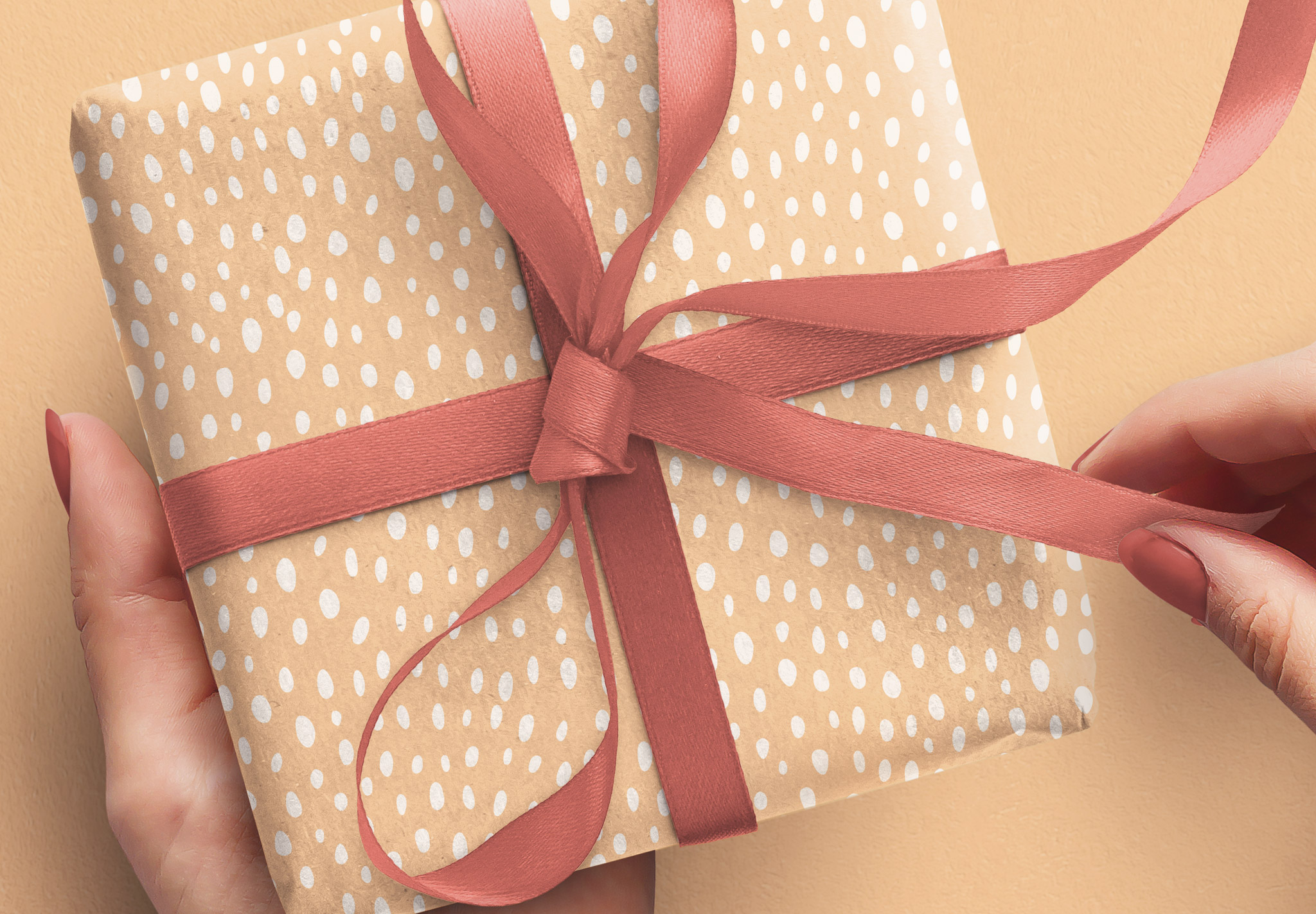 Hands Holding Gift Box image04