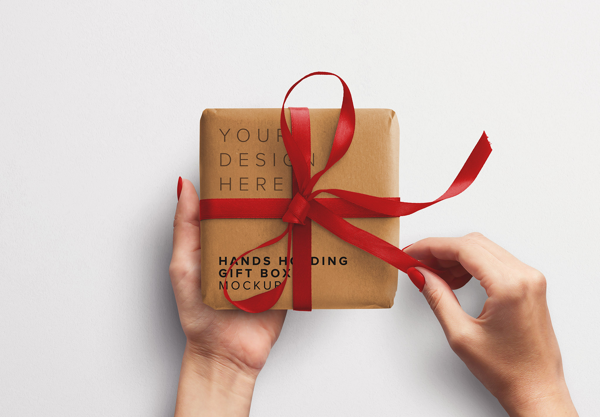 Hands Holding Gift Box thumbnail