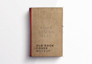 Old Book Cover Mockup image01