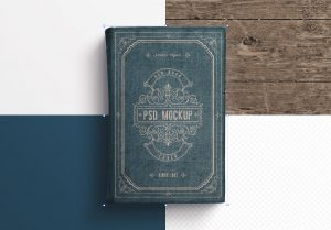 Old Book Cover Mockup image02