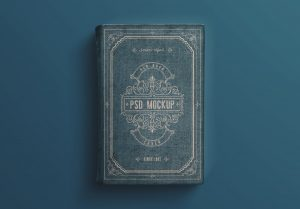 Old Book Cover Mockup image03