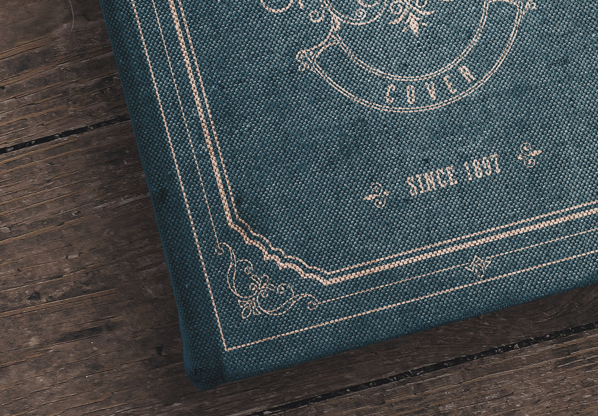 Old Book Cover Mockup image04