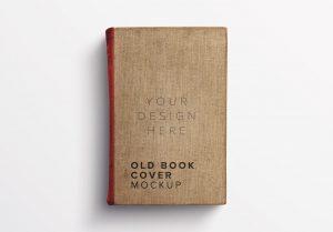 Old Book Cover Mockup thumbnail