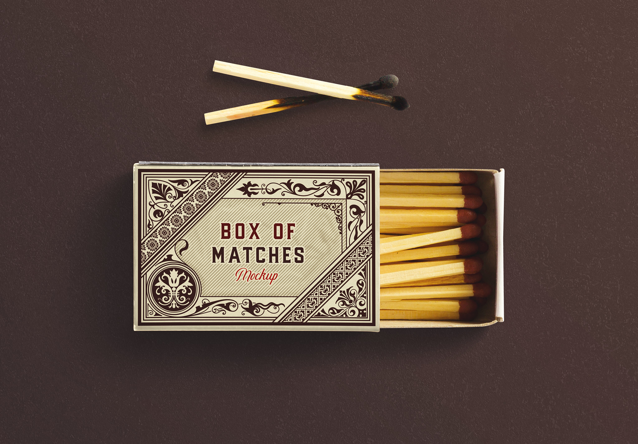 Open Box Matches Mockup image03