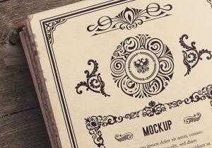 Open Old Book Mockup image04