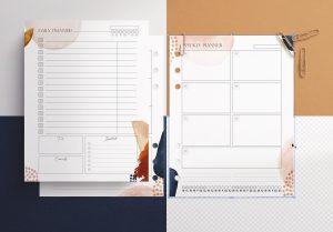 Planner Inserts US Letter Size Mockup image01