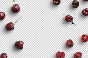 Cherries Fruit Isolated Objects