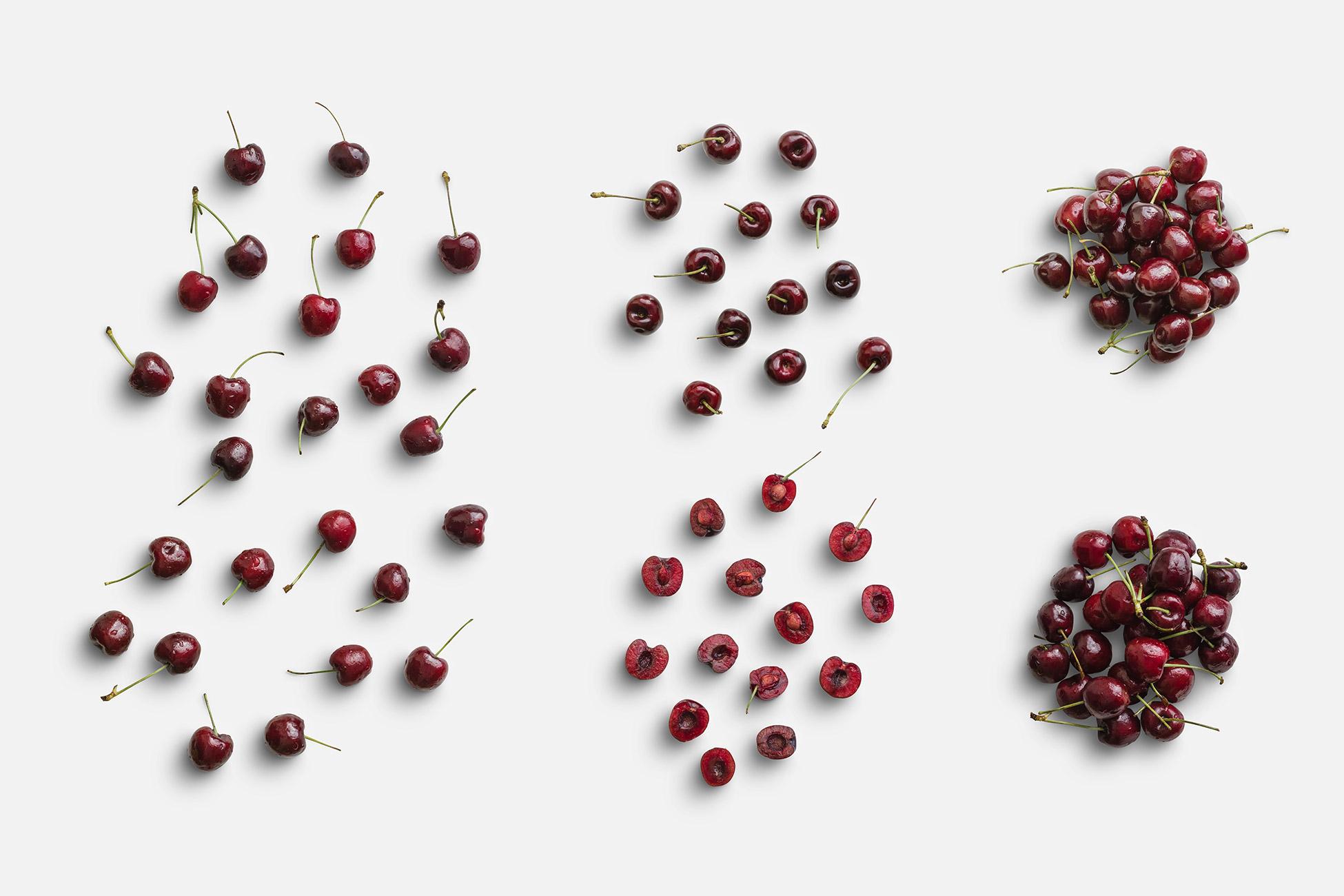 Cherries Fruit Item Scene Creator