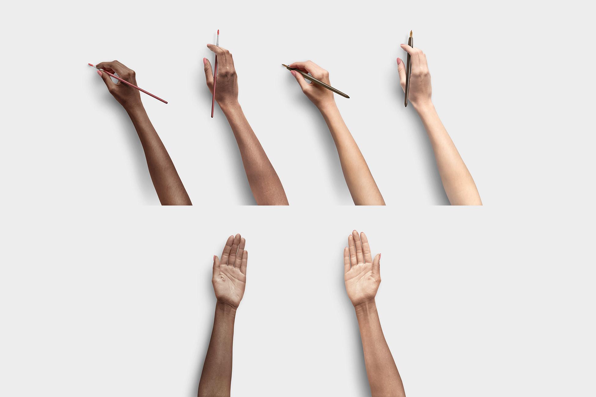 Hands Item Scene Creator
