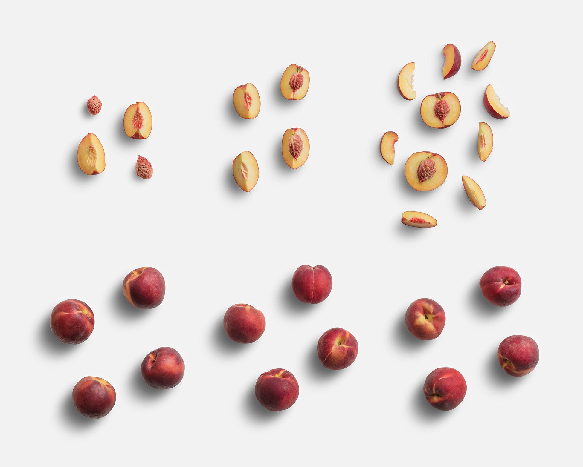Peaches Fruit Item Scene Creator
