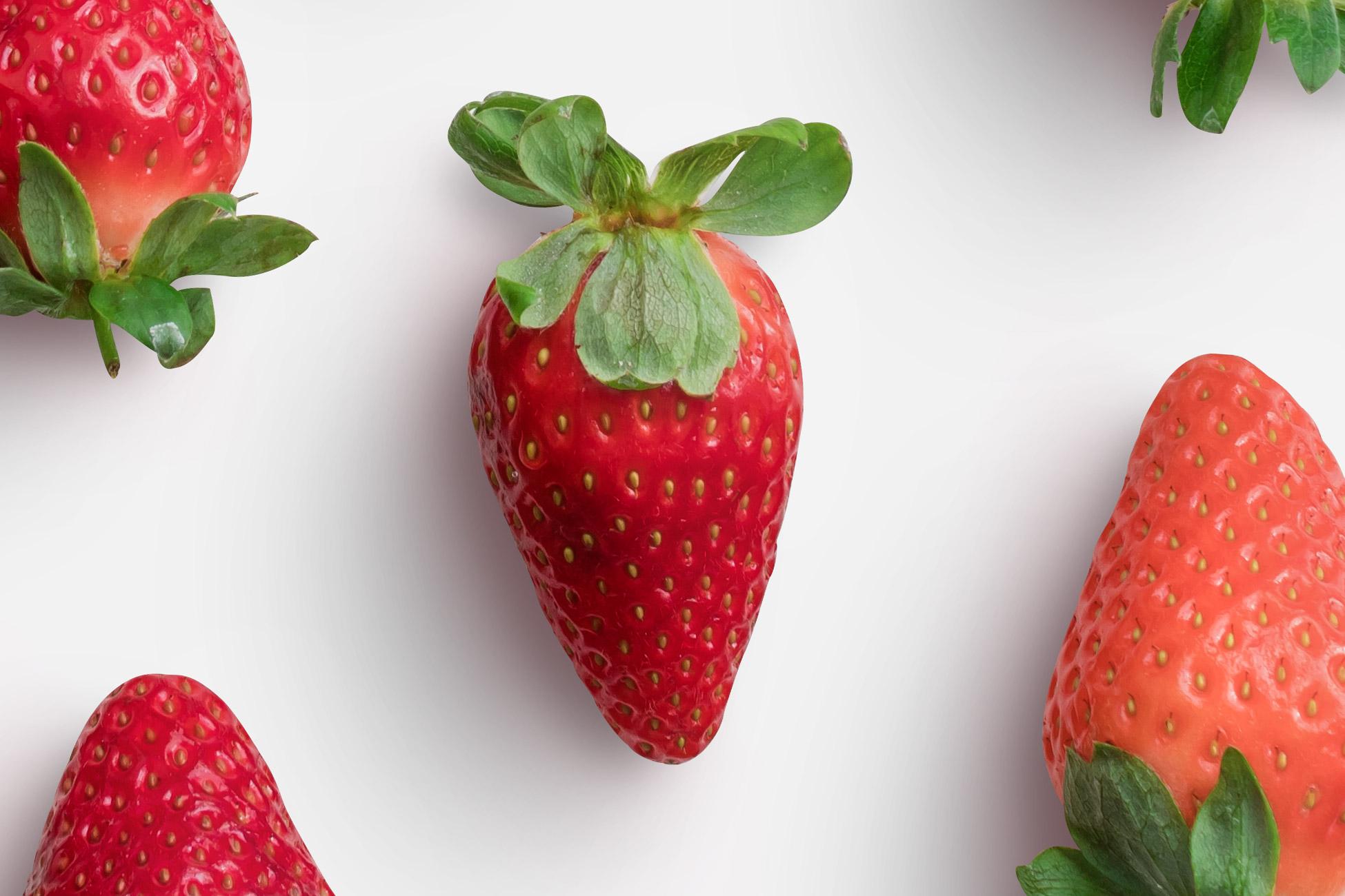 Strawberries Fruit High Resolution