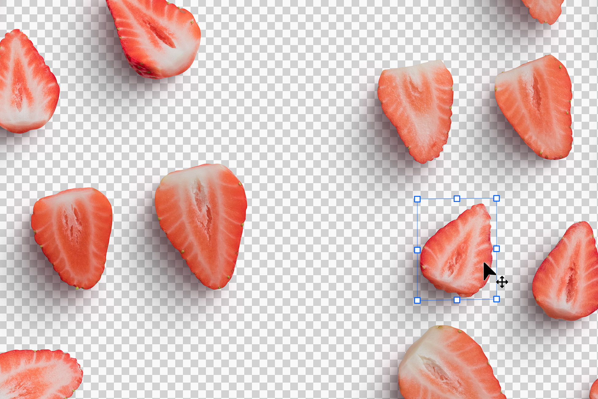 Strawberries Fruit Isolated Objects