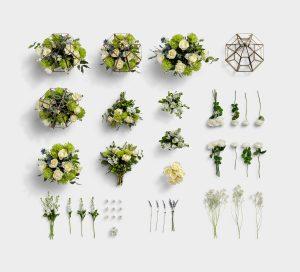 Wedding Floral Item Scene Creator