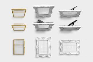 Wedding Frames Item Scene Creator