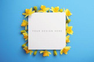 daffodils custom scene creator mockup 10