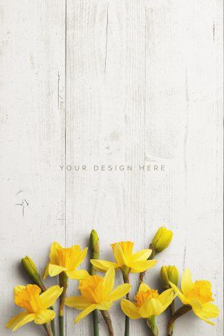 daffodils custom scene creator mockup 6