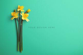 daffodils custom scene creator mockup 7
