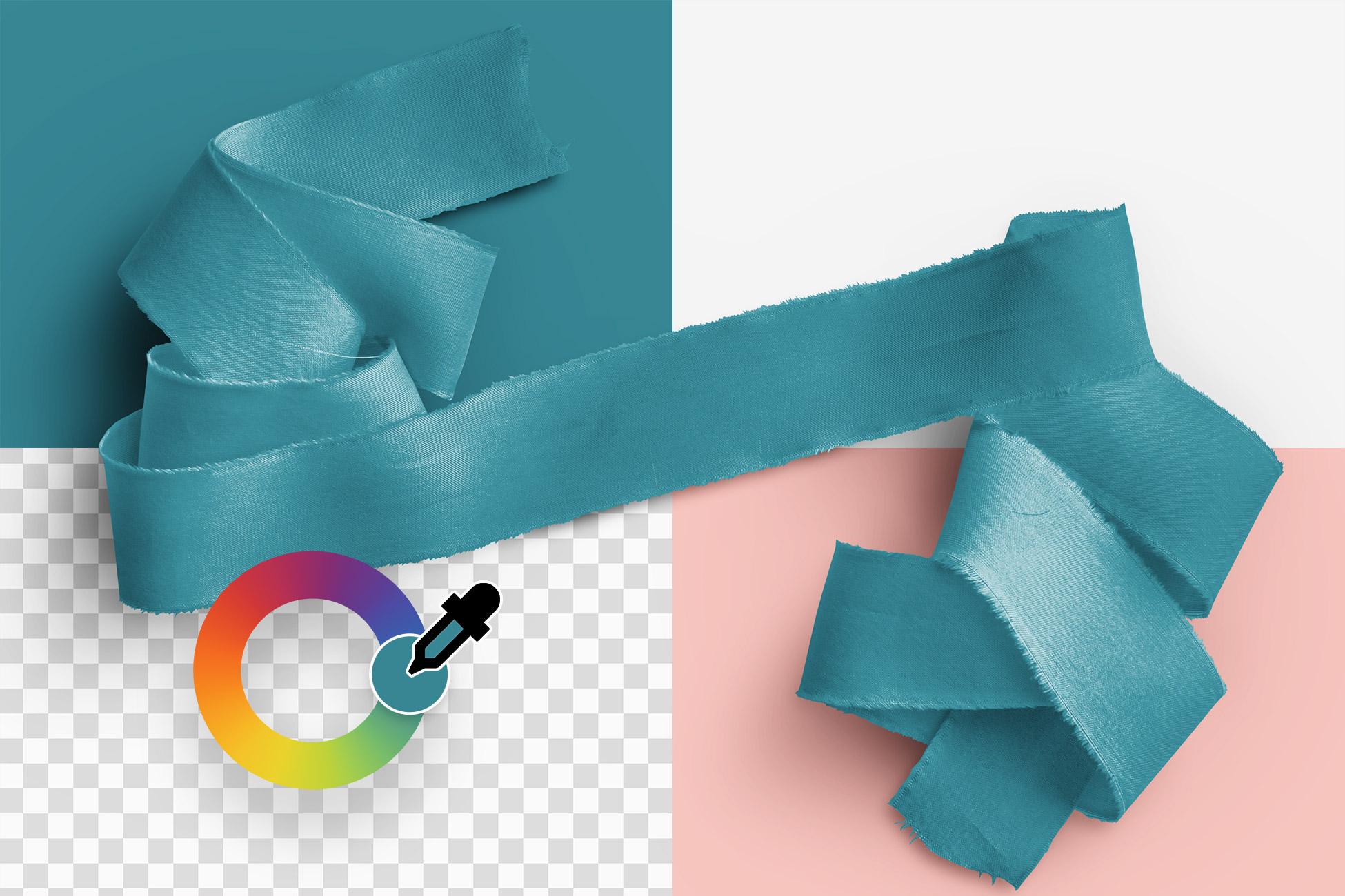 Silk Ribbons Volume 1 Item Scene Creator Color Editable