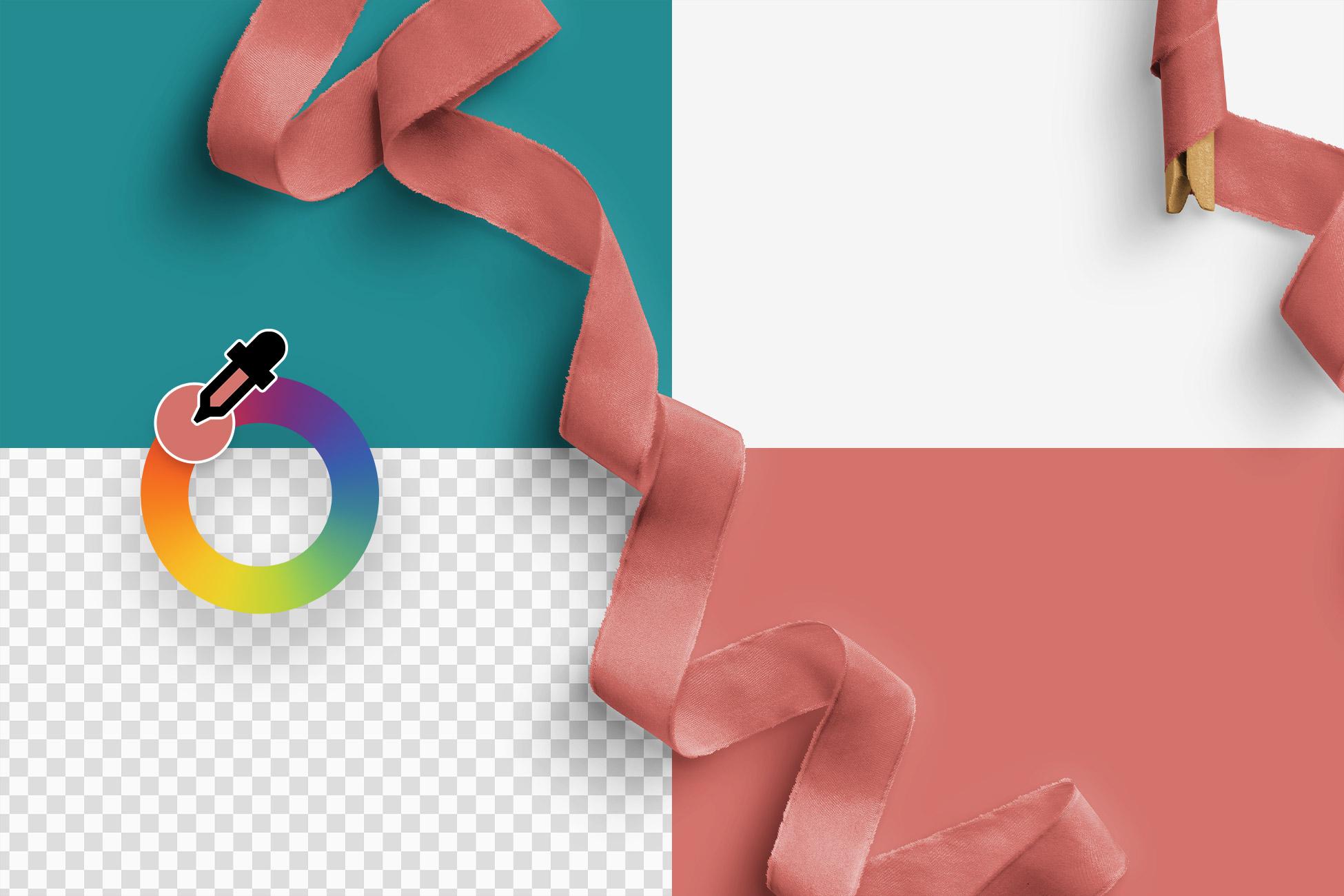 Silk Ribbons Volume 2 Color Editable