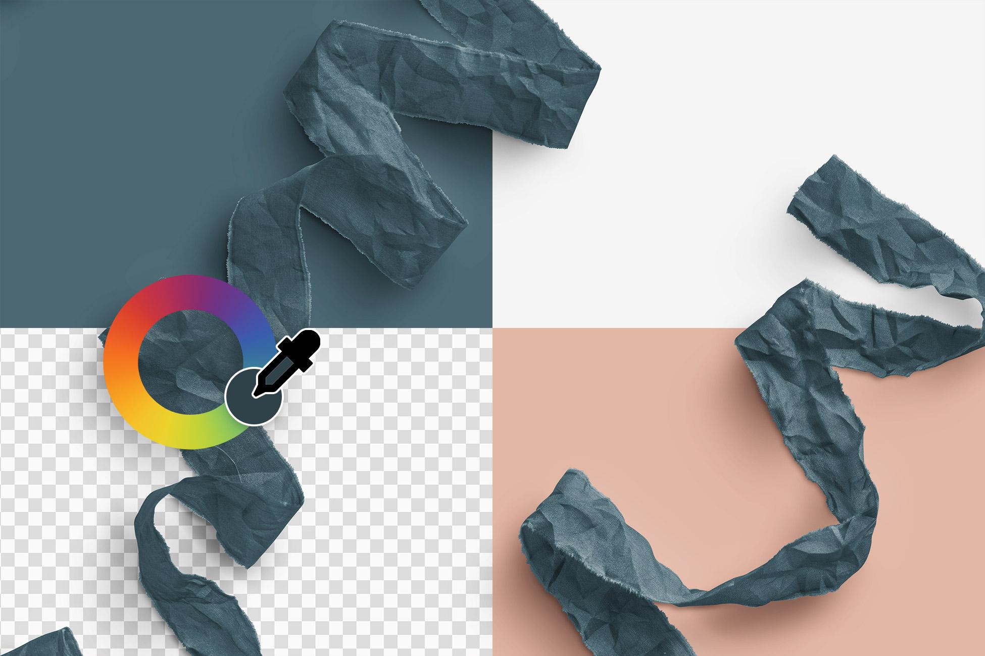 Silk Ribbons Volume 3 Color Editable