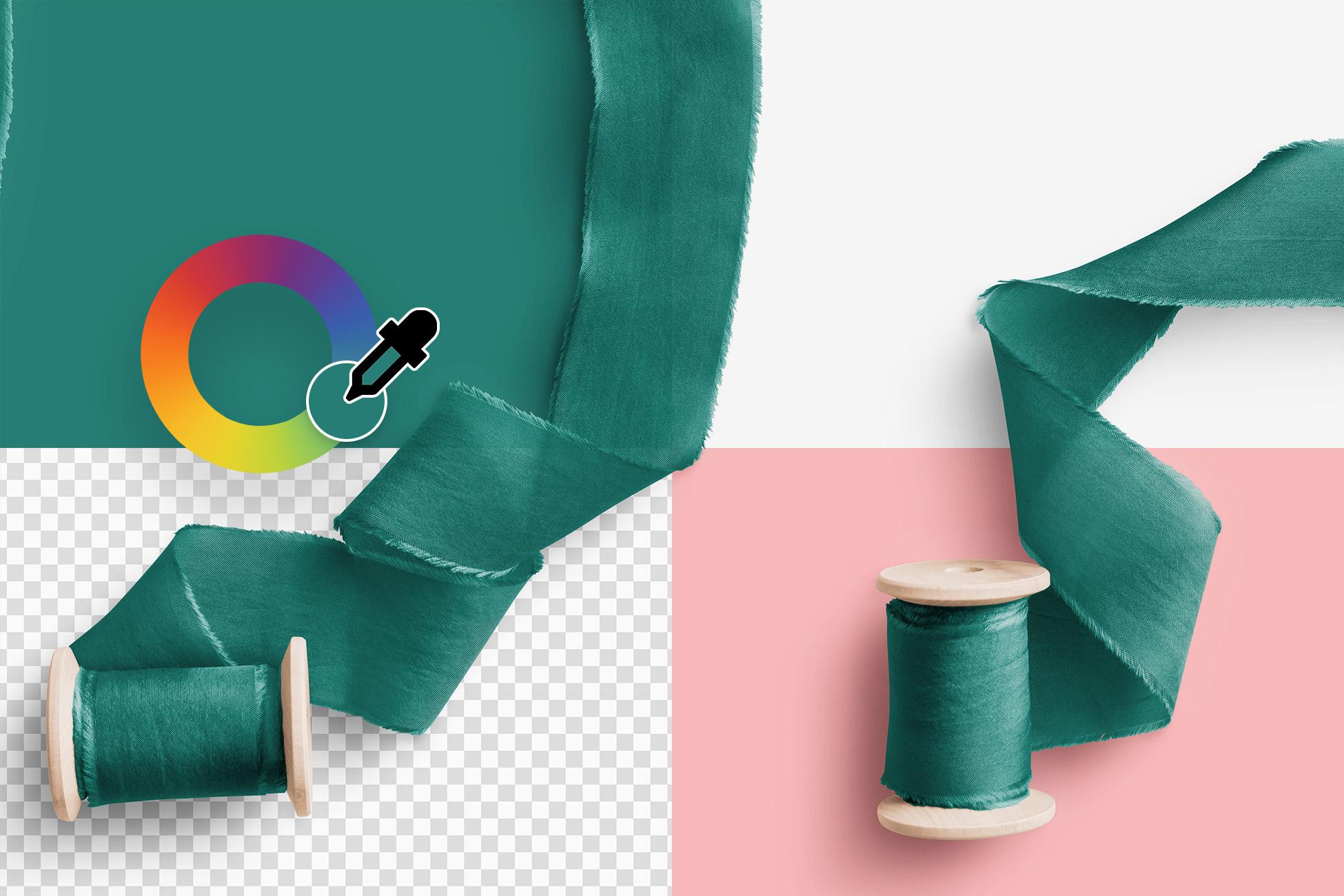 Silk Ribbons Volume 4 Color Editable