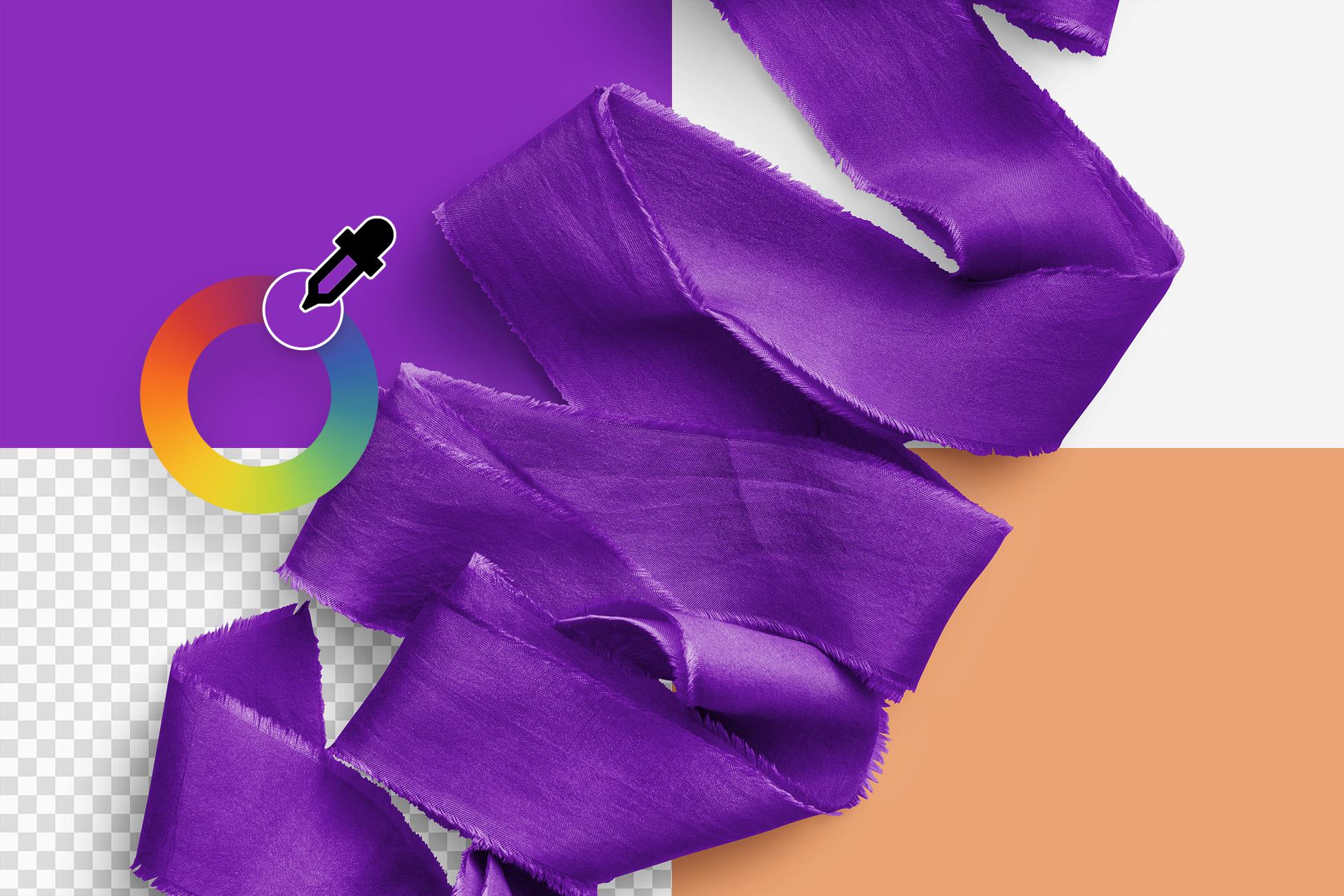 Silk Ribbons Volume 5 Color Editable