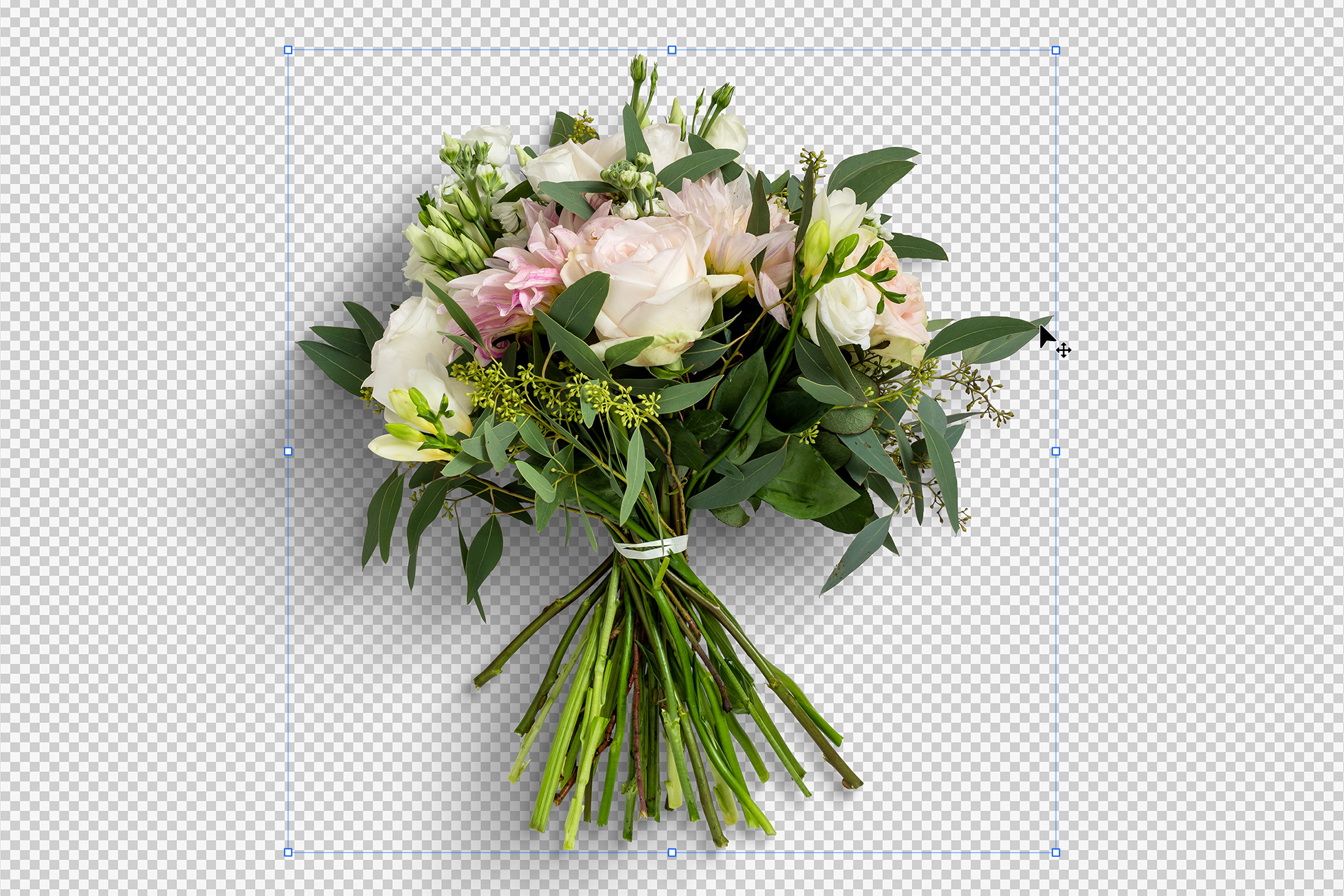 Wedding Bouquet Flowers Isolated Objects
