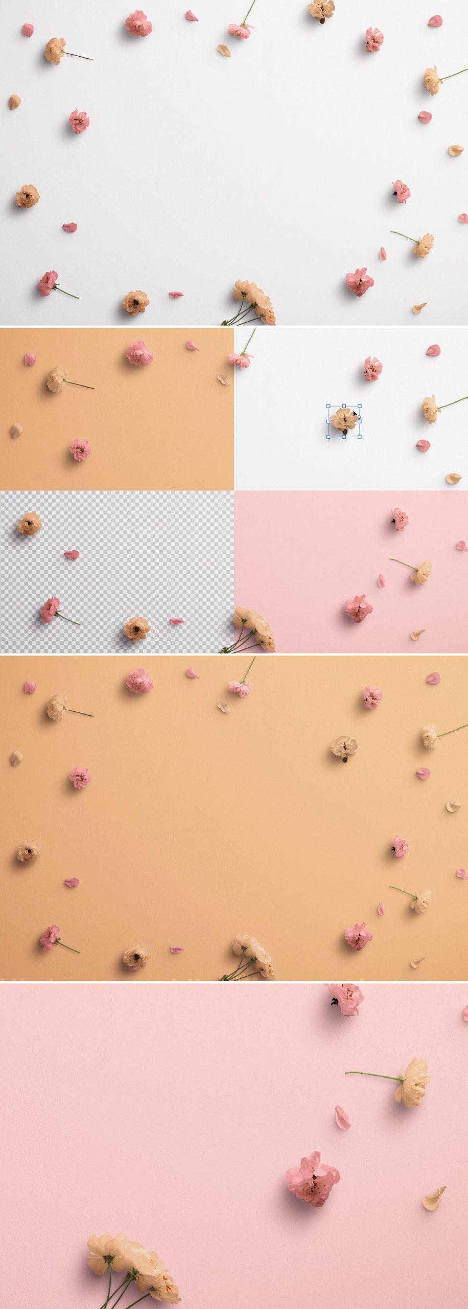 Cherry Blossoms Custom Scene Creator Template 1Preview1