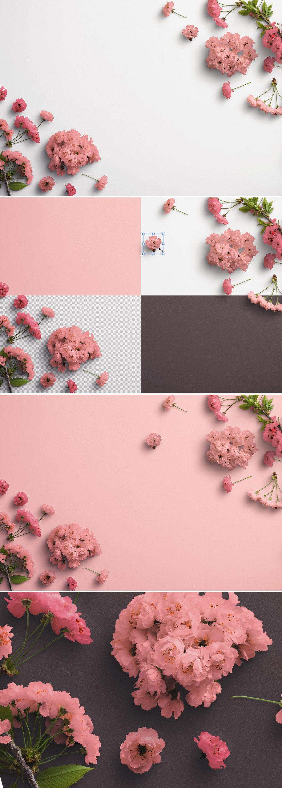 Cherry Blossoms Custom Scene Creator Template 3Preview1