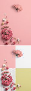 Cherry Blossoms Custom Scene Creator Template 4Preview1