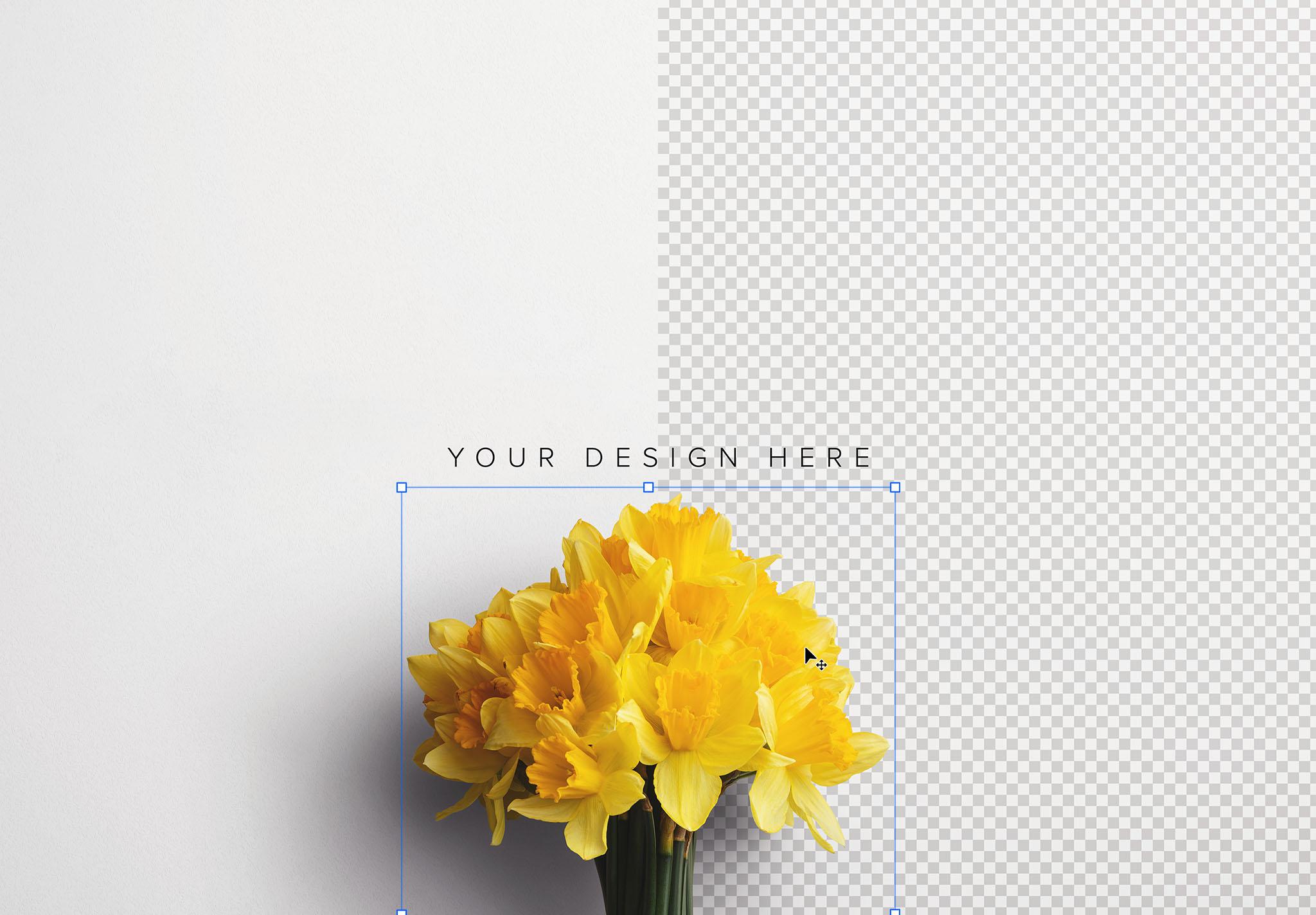 Daffodils Custom Scene Creator Template 3 Image01