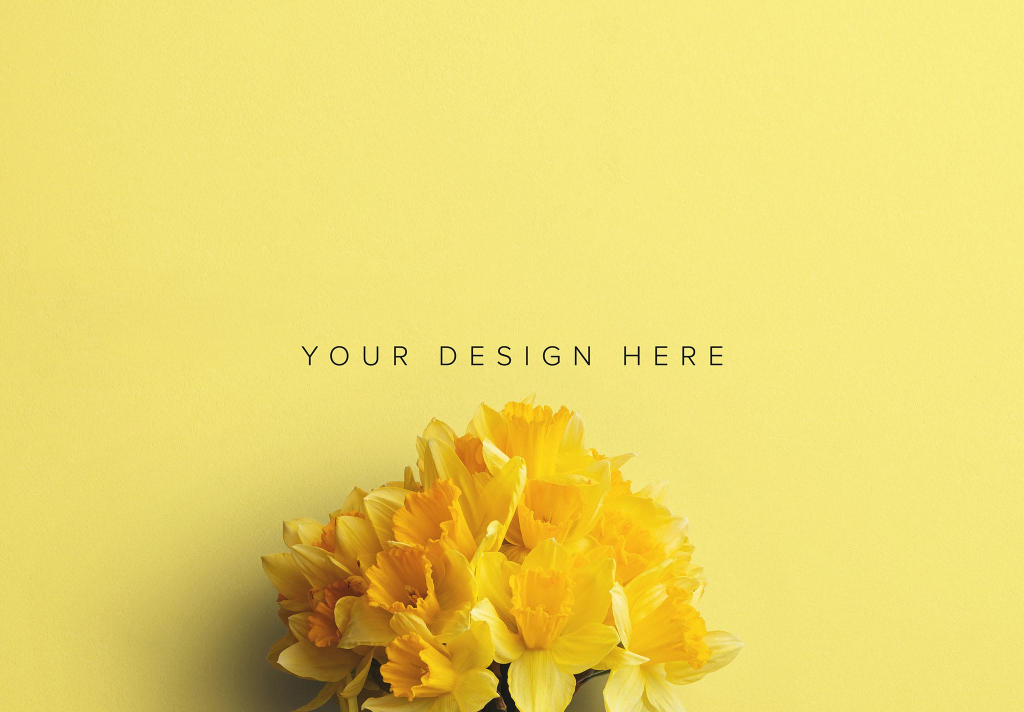 Daffodils Custom Scene Creator Template 3 Image03