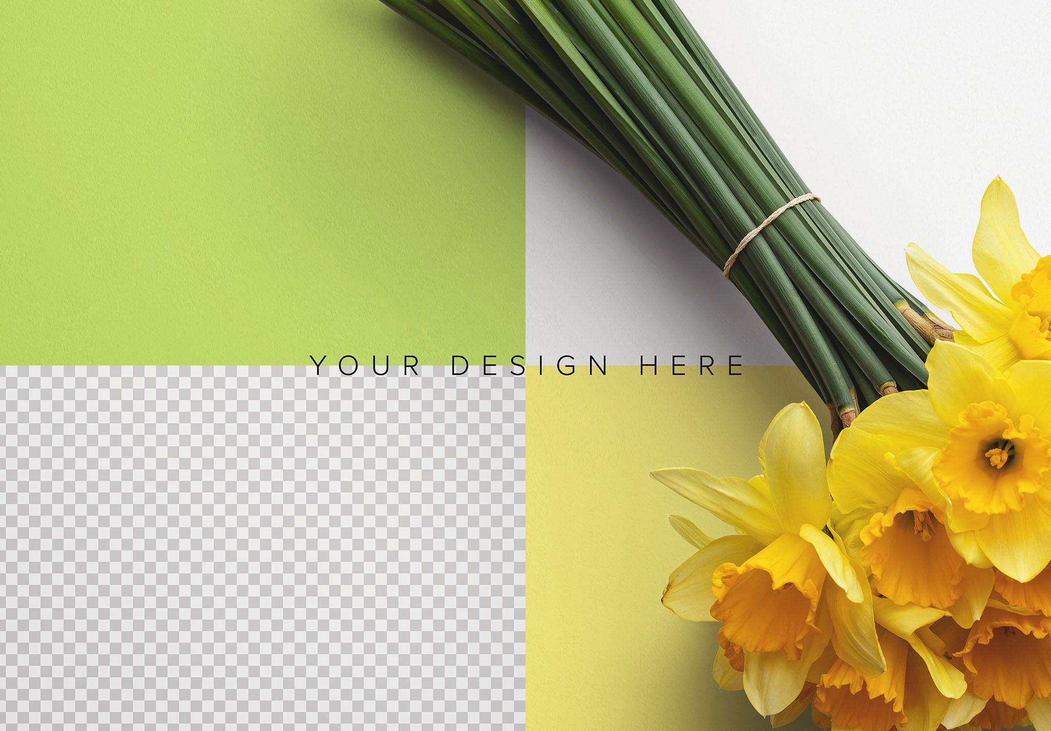 Daffodils Custom Scene Creator Template 5 Image02