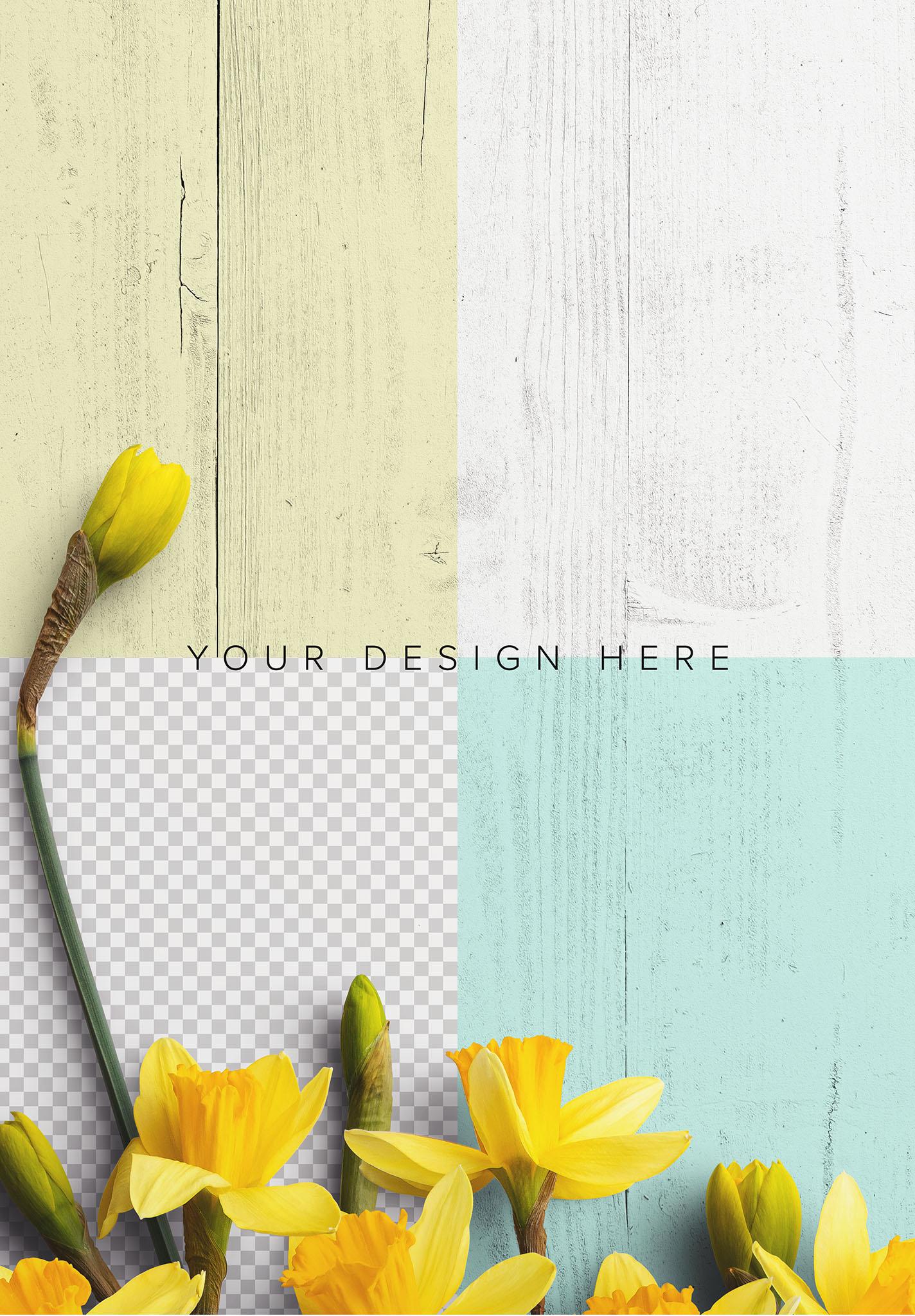 Daffodils Custom Scene Creator Template 6 Image02