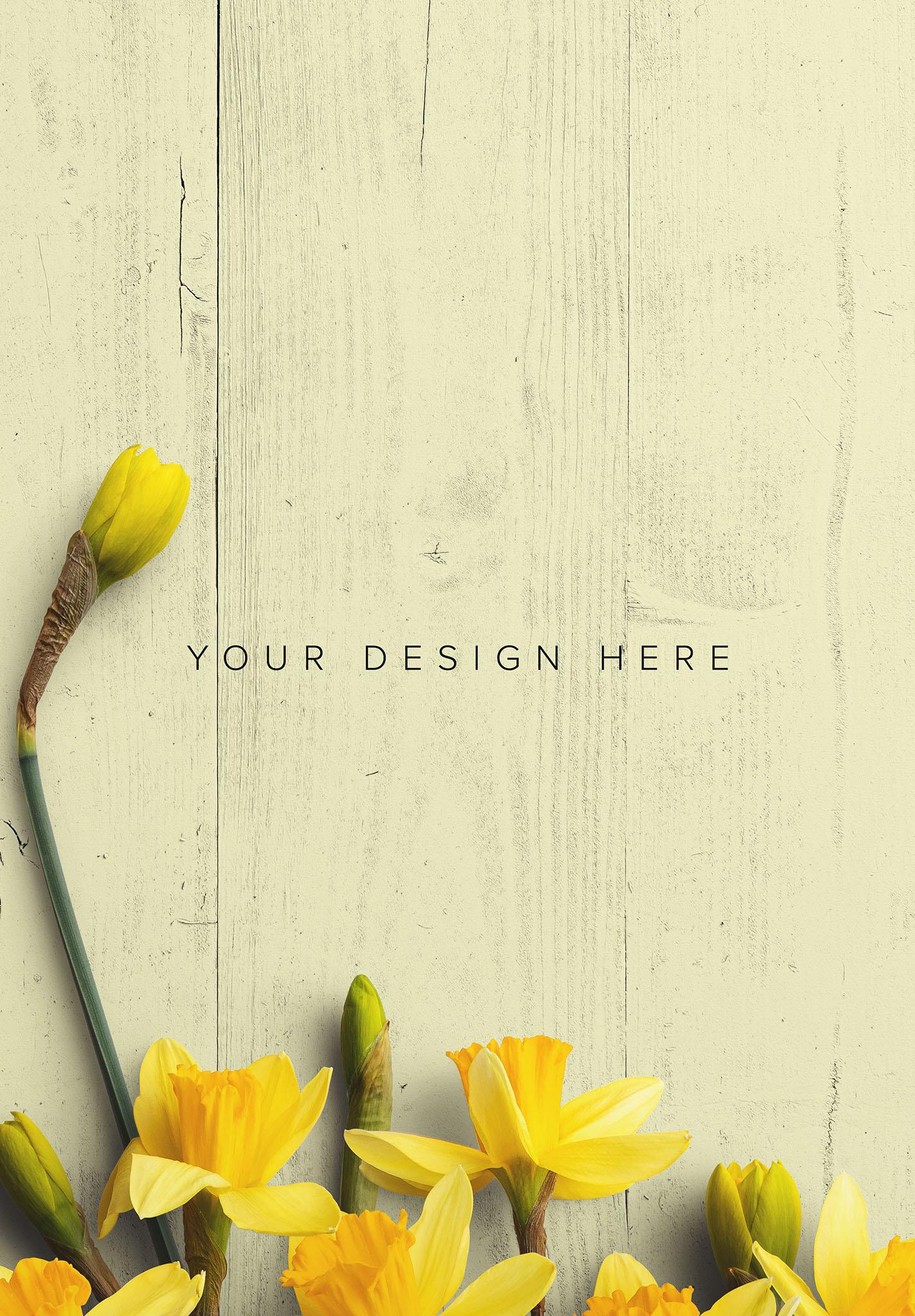 Daffodils Custom Scene Creator Template 6 Image03