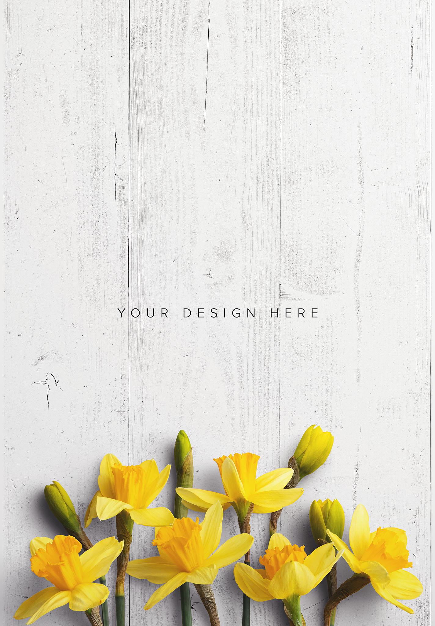 Daffodils Custom Scene Creator Template 6 Thumbnail